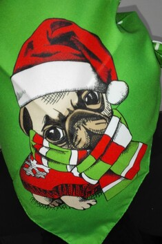 Christmas Bandana Double Sided